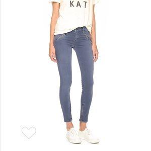 Current/Elliott Silverlake Zip Skinny Ankle Jeans